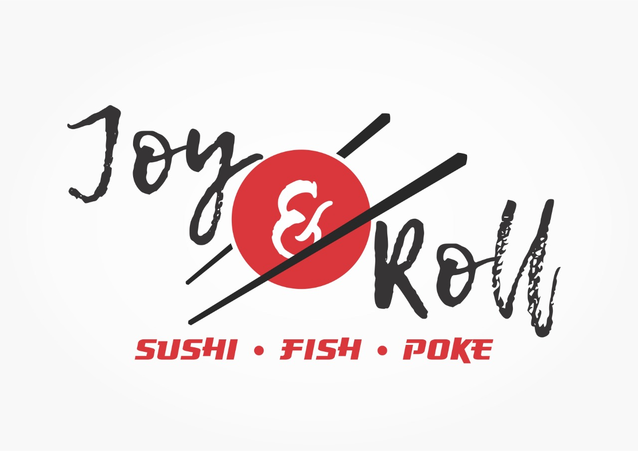 Logo-Restaurante Japonês - joy & roll