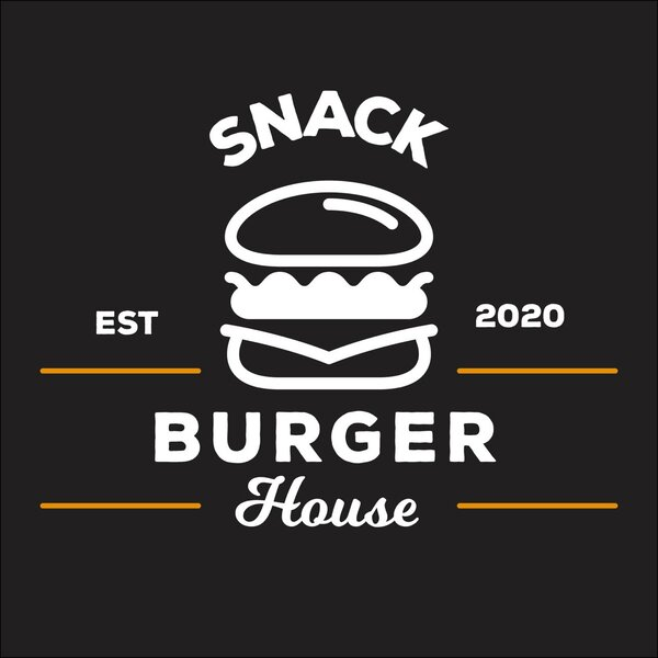 Logo-Hamburgueria - Snack Burger House