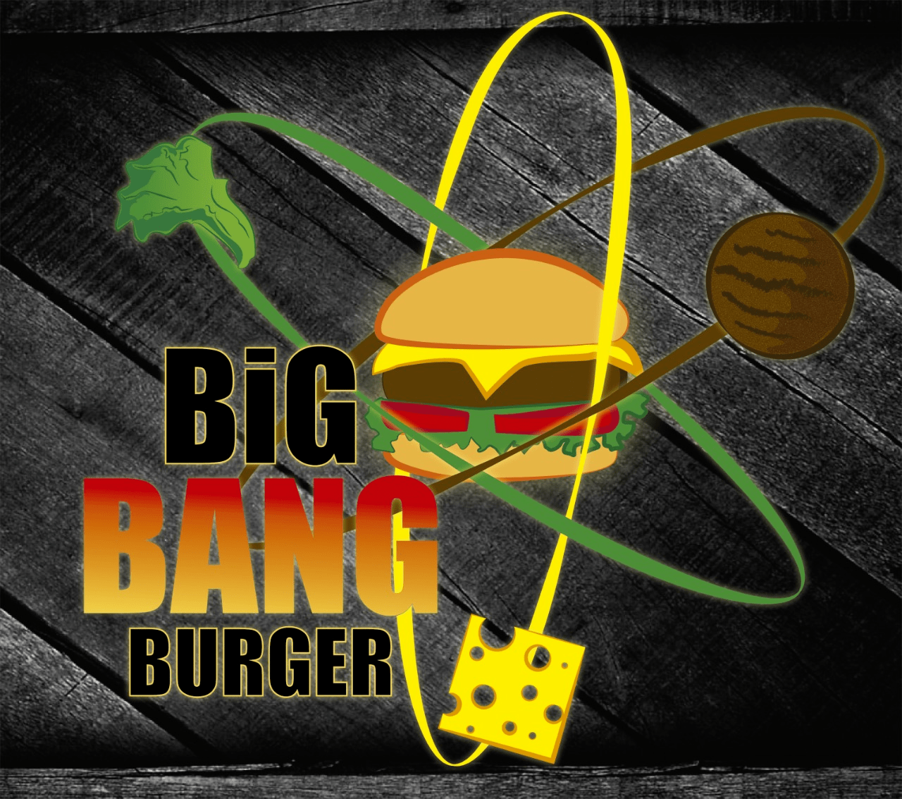 Logo-Hamburgueria - The Big Bang Burger