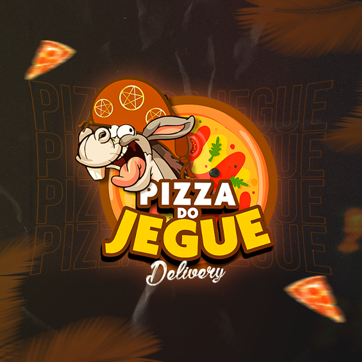 Logo-Pizzaria - Pizza do Jegue