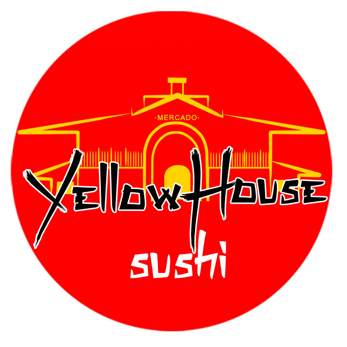 Logo-Restaurante Japonês - yellow house sushi