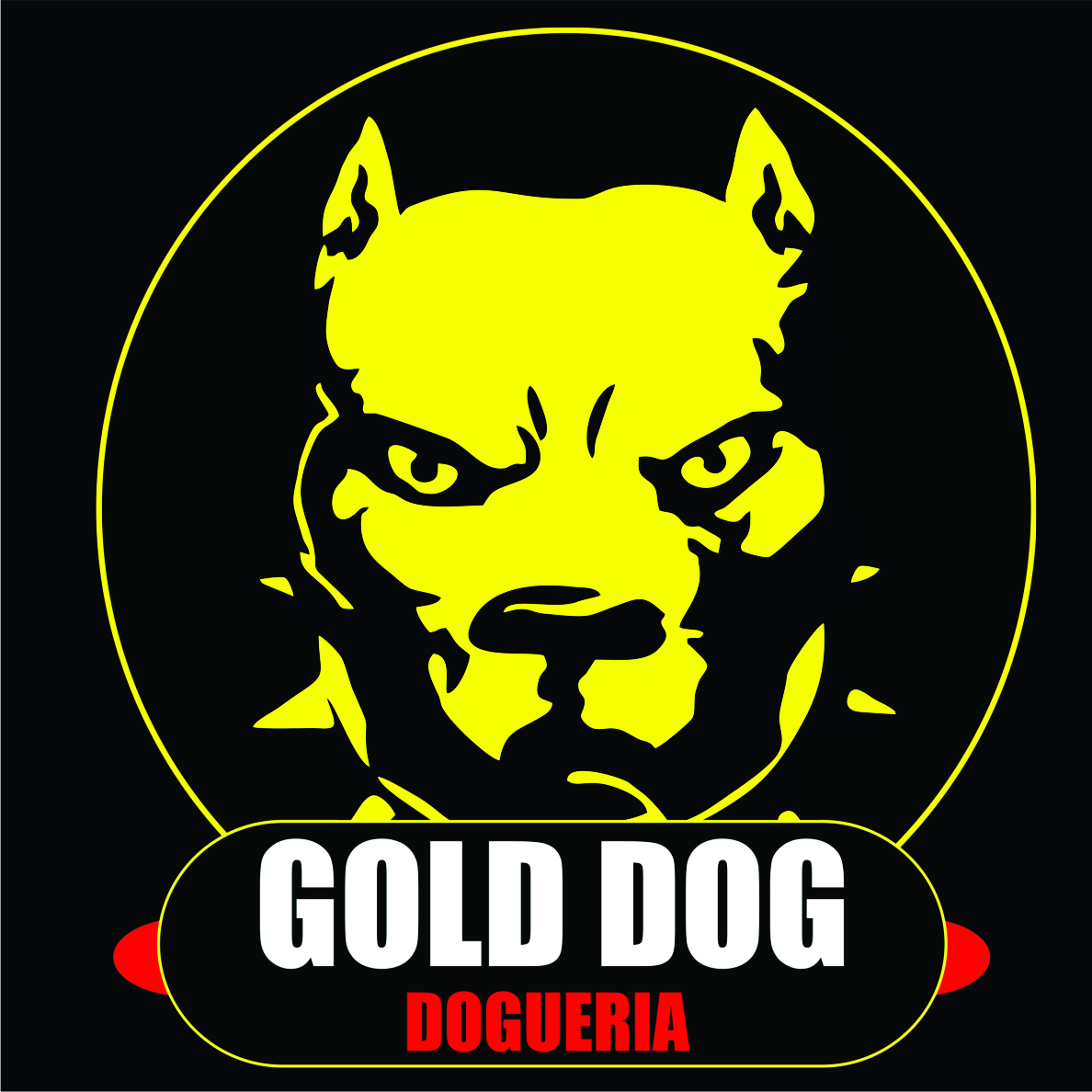 Logo-Restaurante - Gold Dog &  Burgers