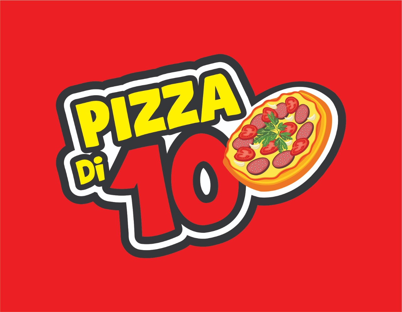 Logo-Pizzaria - Pizza di 10