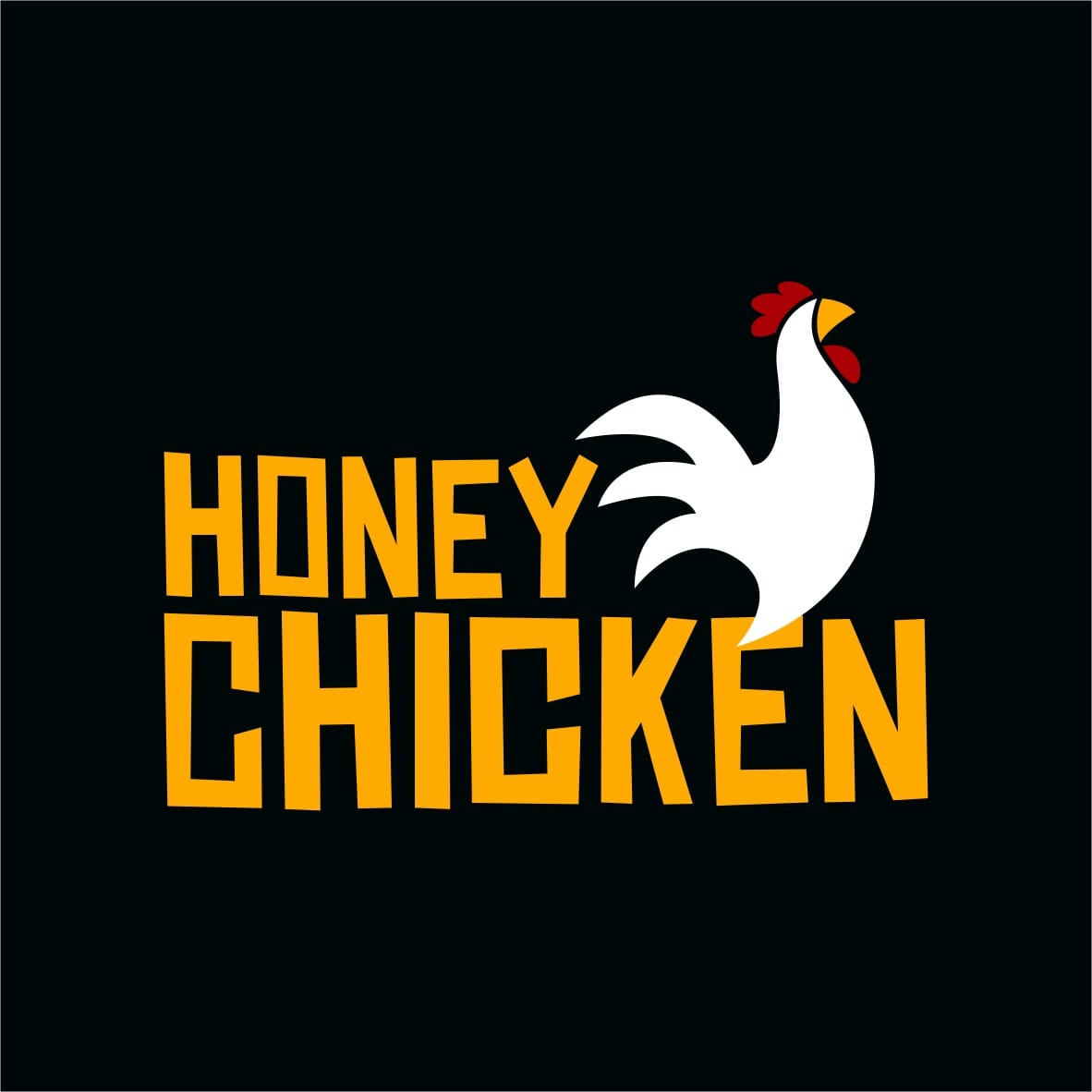 Logo-Fast Food - Honey Chicken