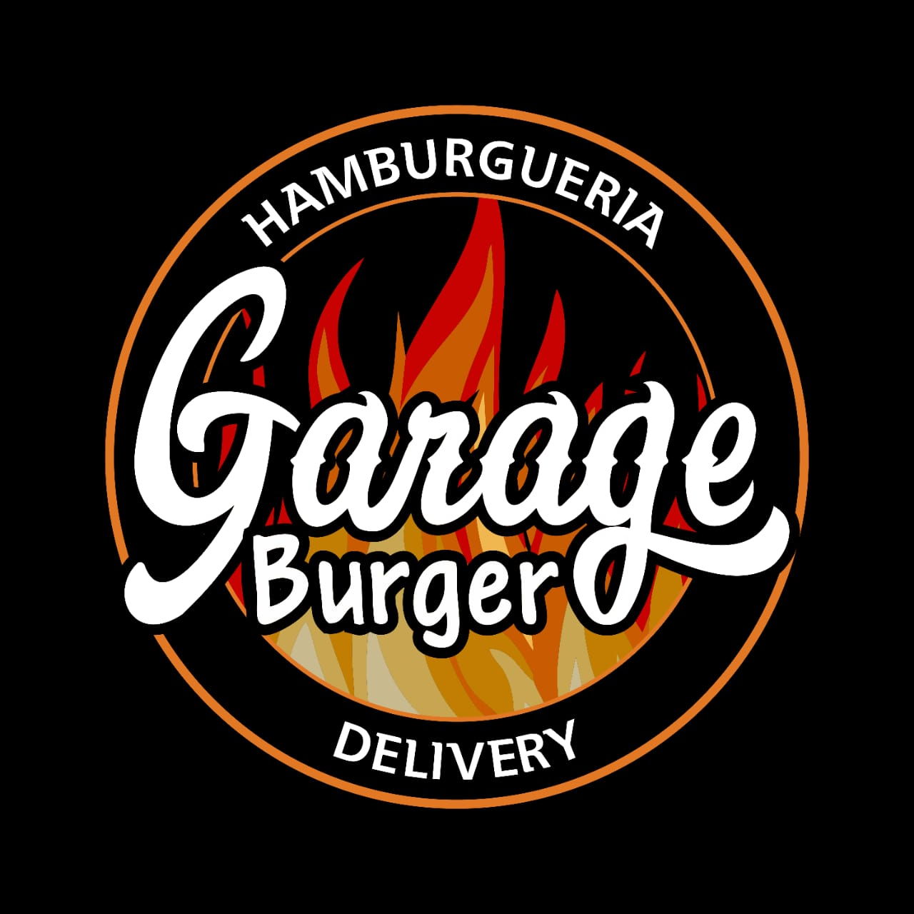 Logo-Restaurante Delivery - Garage burger