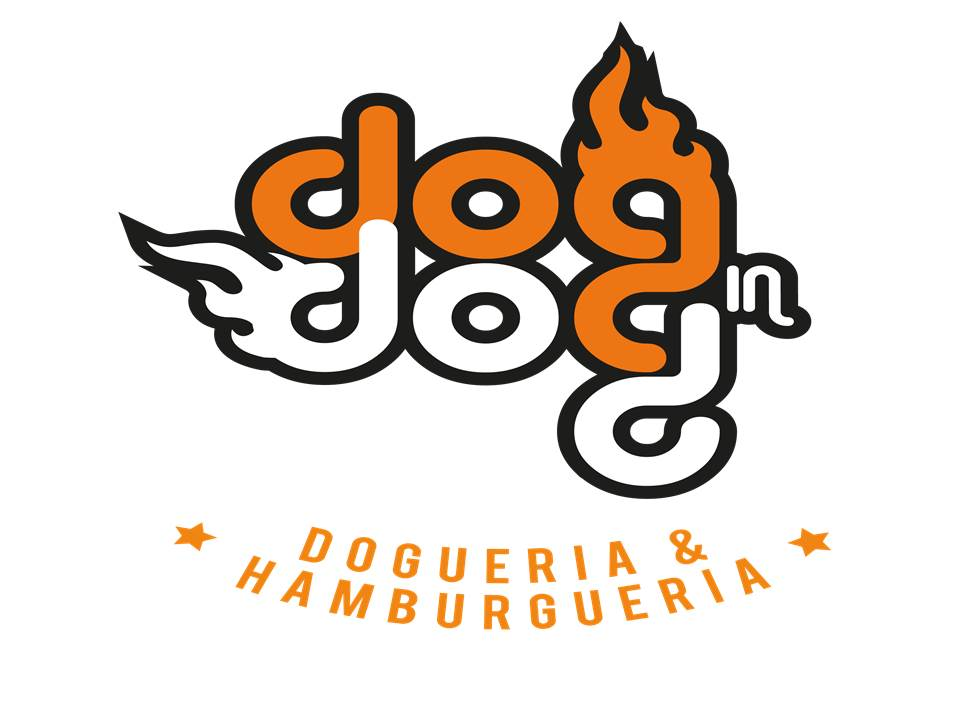 Logo-Fast Food - Dog in Dog - Dogueria & Hamburgueria