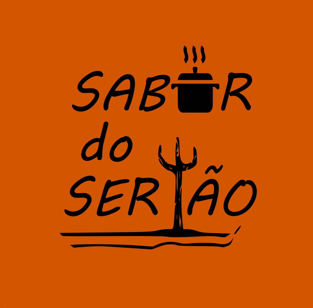 Logo-Restaurante - Sabor do Sertão