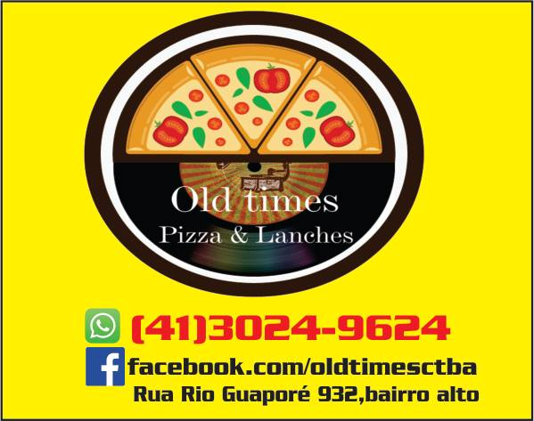 Logo-Pizzaria - Old Times pizza e lanches