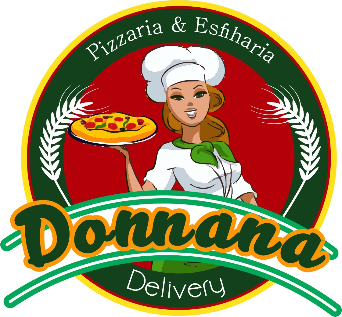 Logo-Pizzaria - Donnana Pizzaria e Esfiharia Delivery