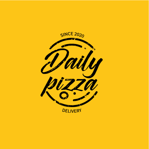 Logo-Pizzaria - Daily Pizza - Delivery