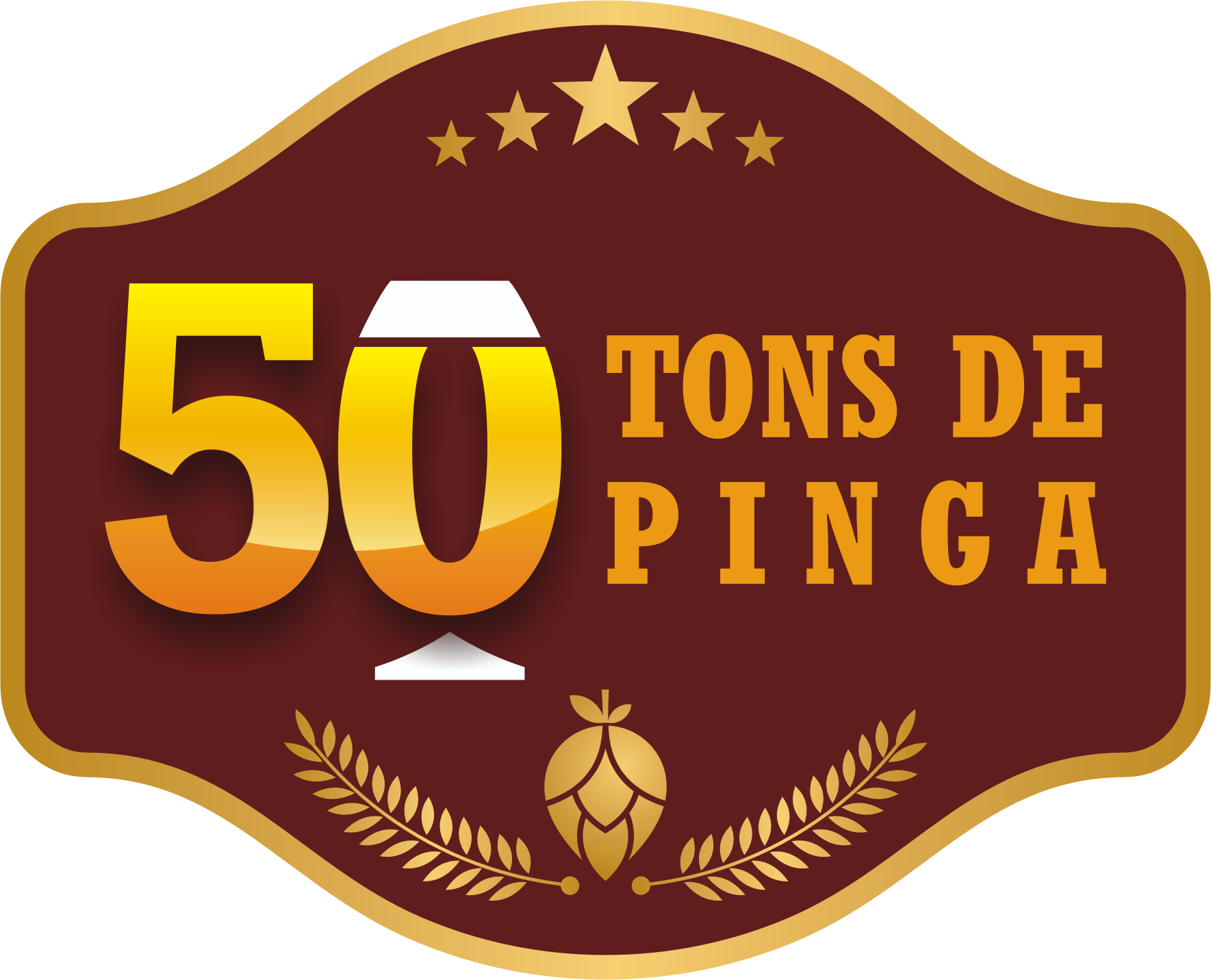 Logo-Bar - 50 Tons de Pinga