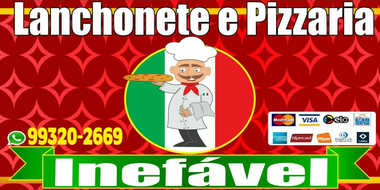Logo-Pizzaria - Lanchonete e Pizzaria Inefável