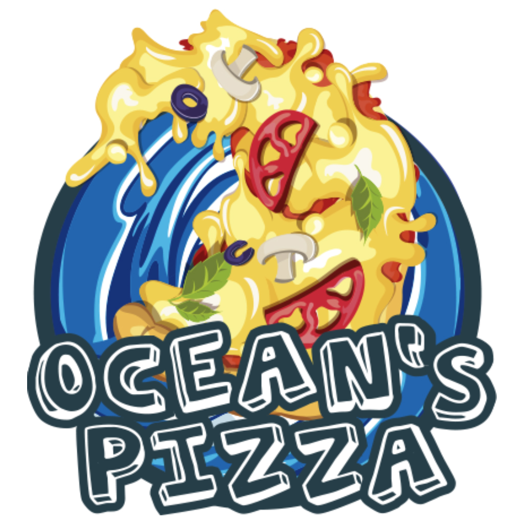 Logo-Pizzaria - Ocean's Pizza