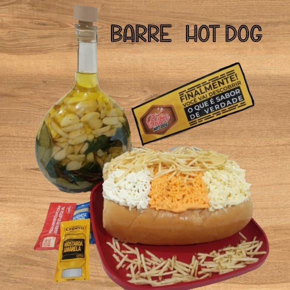 barre hot dog