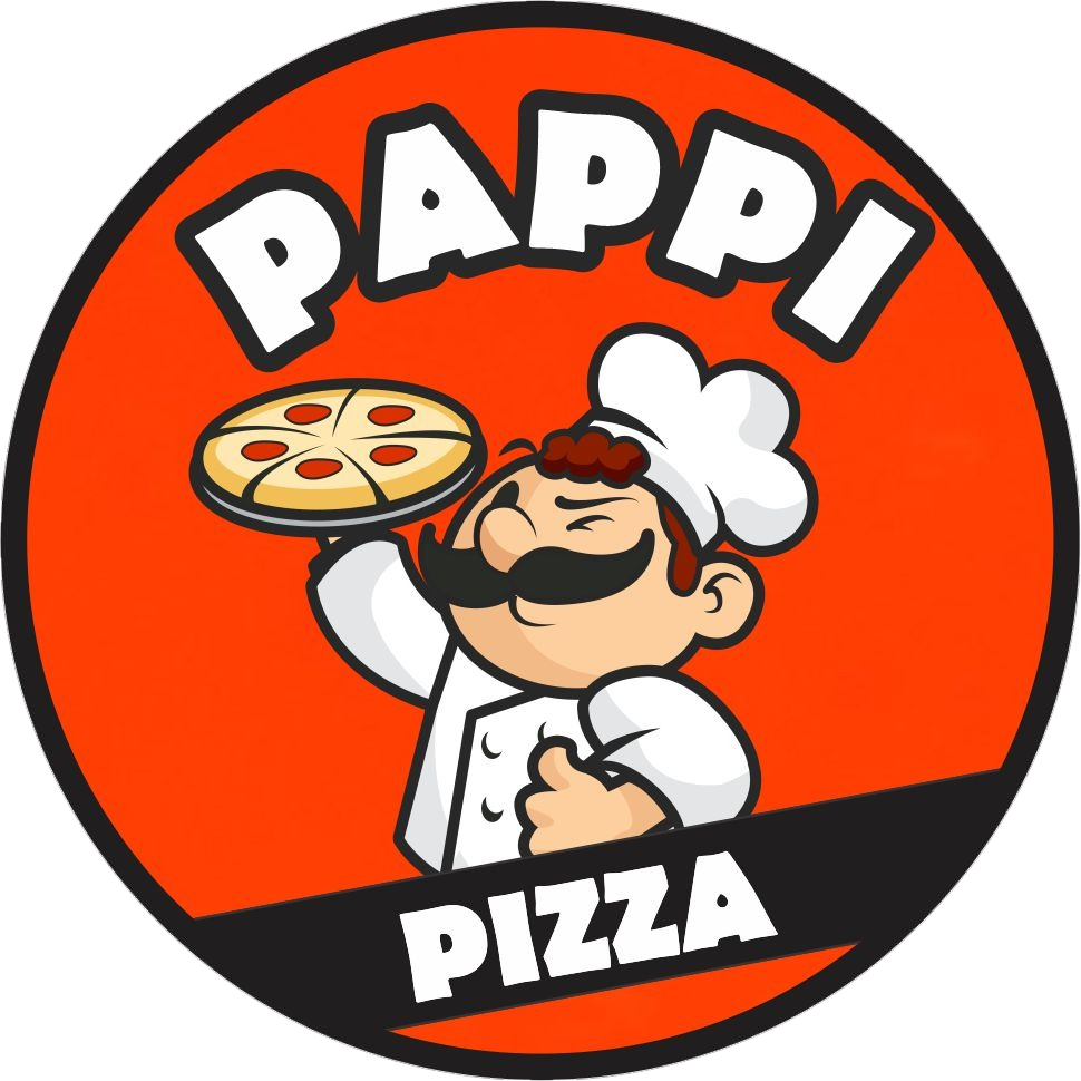 Logo-Pizzaria - PAPPI PIZZA