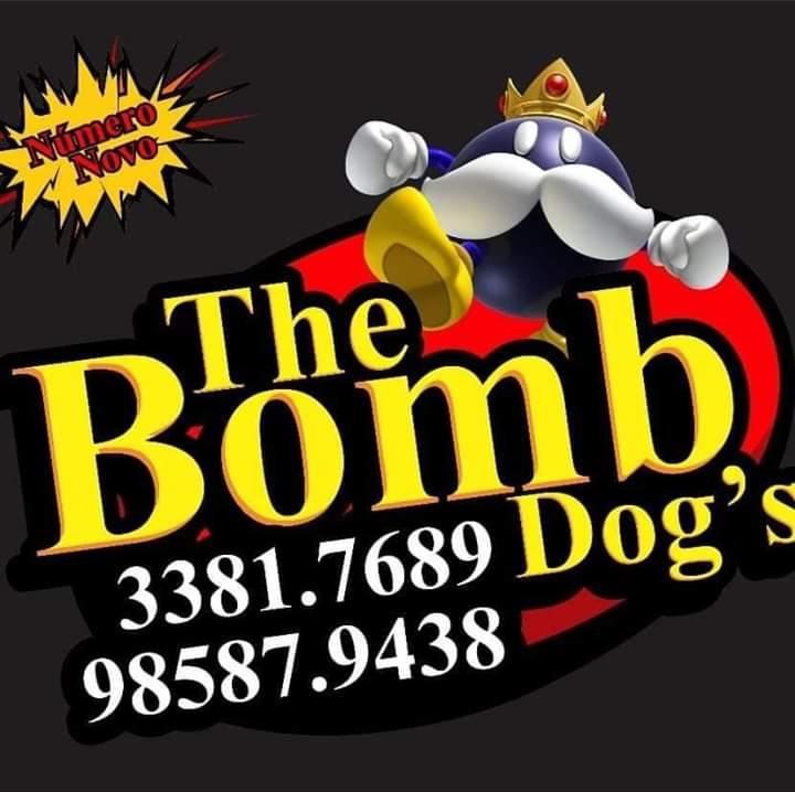 Logo-Lanchonete - The Bomb Dog's