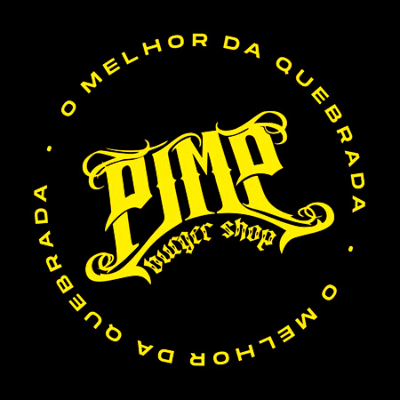 Logo-Hamburgueria - Pimp Burger Shop