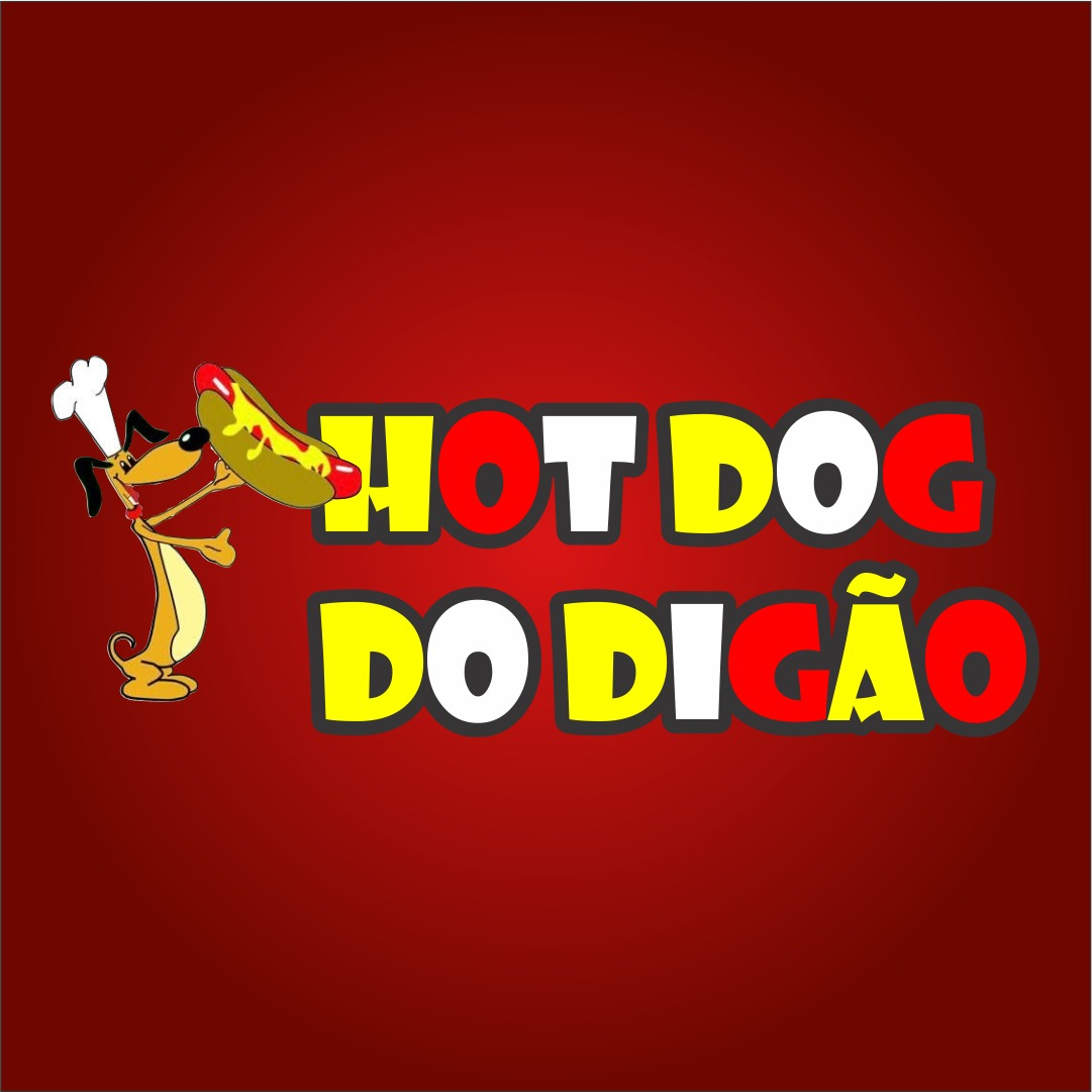 Logo-Lanchonete - Hot dog do Digao
