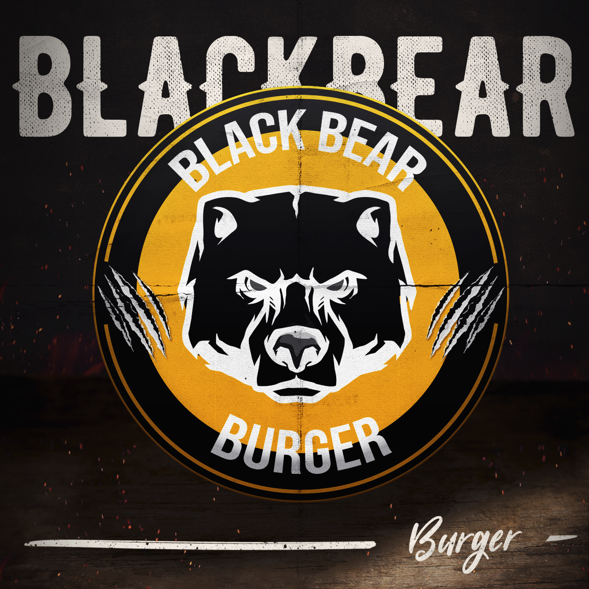 Logo-Hamburgueria - BLACK BEAR BURGER