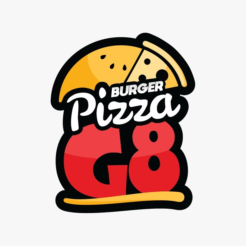 Logo-Pizzaria - G8pizza burger