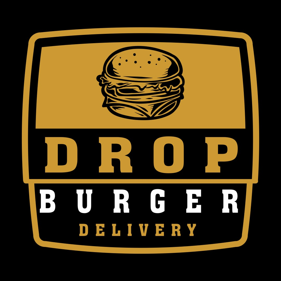 Logo-Hamburgueria - Drop Burger