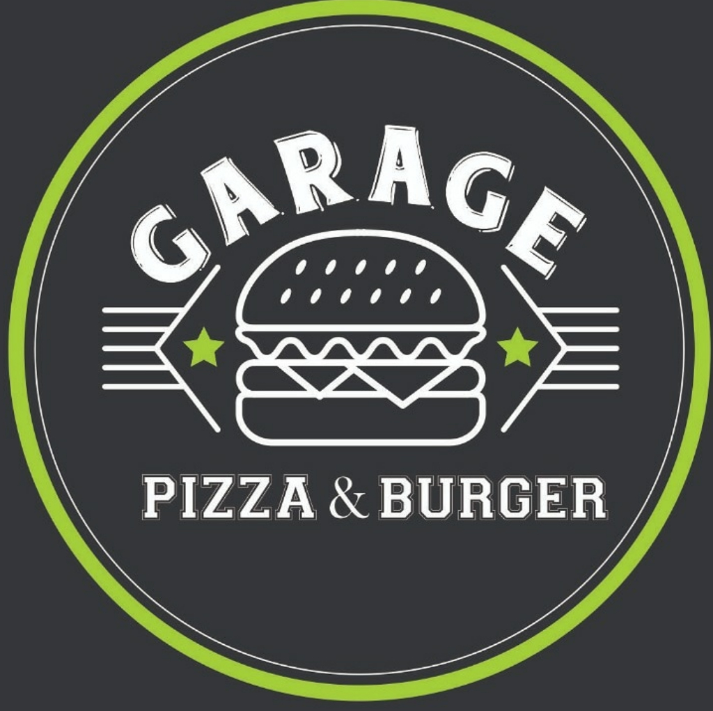 Logo-Pizzaria - Garage Pizza & Burger