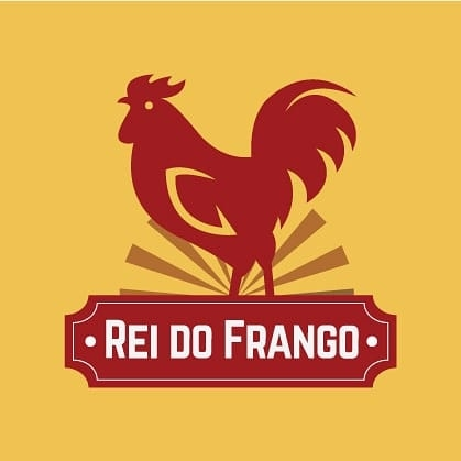 Logo-Fast Food - REI DO FRANGO SJC