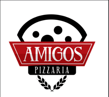 Logo-Pizzaria - AMIGOS PIZZARIA