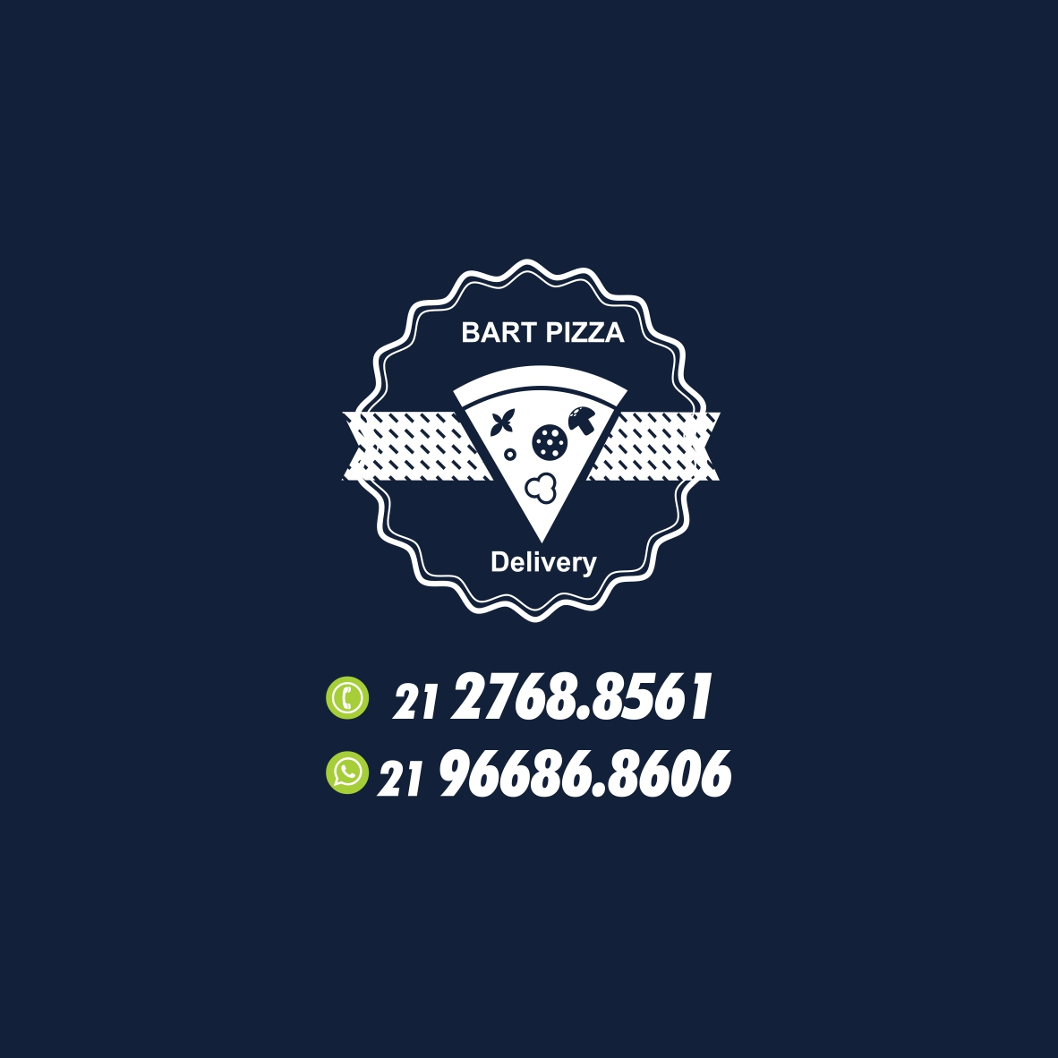 Logo-Pizzaria - BART PIZZA DELIVERY